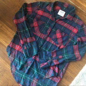 🍀🍀 SALE Abercrombie & Fitch Plaid Shirt